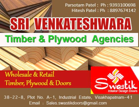 Plywood and Timber Merchants in Visakhapatnam, Vizag